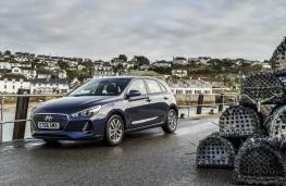 Hyundai i30, static scene 2