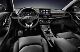 Hyundai i30 Fastback fascia