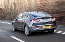 Hyundai i30 Fastback N, rear