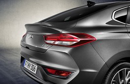 Hyundai i30 Fastback tailgate
