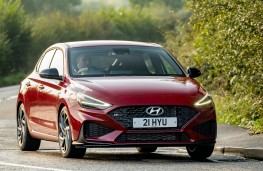 Hyundai i30 Fastback N Line, dynamic