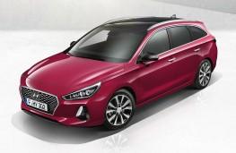 Hyundai i30 Tourer overhead