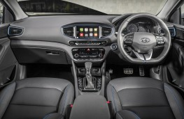 Hyundai IONIQ, dashboard
