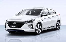 Hyundai Ioniq Plug-in front threequarter