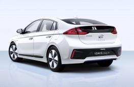 Hyundai Ioniq Plug-in rear threequarter
