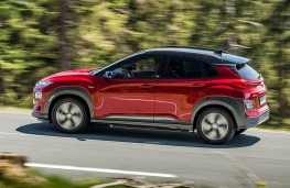 Hyundai Kona Electric action