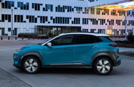 Hyundai Kona Electric side
