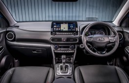 Hyundai Kona Hybrid, interior