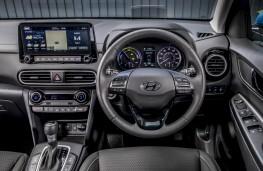 Hyundai Kona Hybrid, dashboard