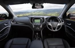 Hyundai Santa Fe, dashboard