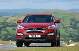 Hyundai Santa Fe, front action
