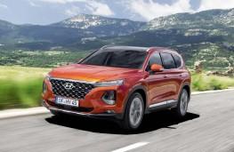 Hyundai Santa Fe 2018 front action