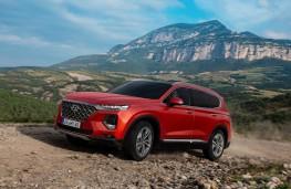Hyundai Santa Fe 2018 off road
