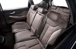 Hyundai Santa Fe 2018 rear seats