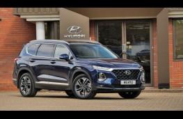 Hyundai Santa Fe, front