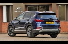 Hyundai Santa Fe, rear