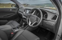 Hyundai Tucson, dashboard