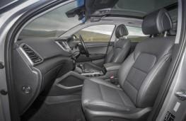 Hyundai Tucson, front seats