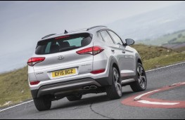 Hyundai Tucson, rear action