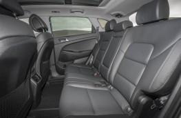 Hyundai Tucson, rear seats