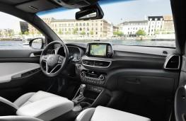 Hyundai Tucson 2018 fascia