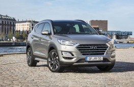 Hyundai Tucson 2018 front static