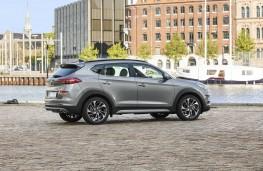 Hyundai Tucson 2018 profile