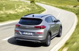 Hyundai Tucson 2018 rear action