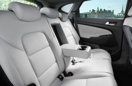 Hyundai Tucson 2018 rear seats