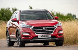 Hyundai Tucson, front, dynamic