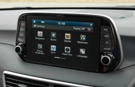 Hyundai Tucson, touchscreen