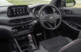 Hyundai Tucson N-Line cockpit