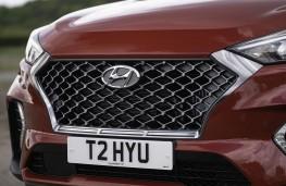 Hyundai Tucson N-Line grille detail
