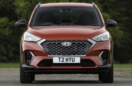 Hyundai Tucson N-Line head on
