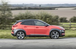 Hyundai Kona, side
