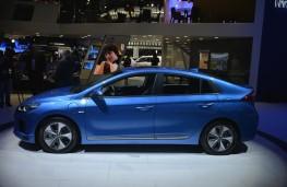 Hyundai Ioniq, 2016, Los Angeles auto show