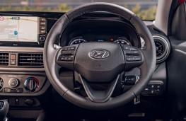 Hyundai i10, 2020, dashboard