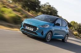 Hyundai i10, 2019, front, action