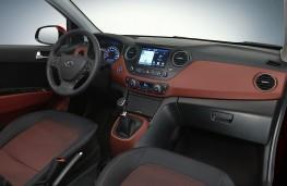 Hyundai i10, 2016, interior