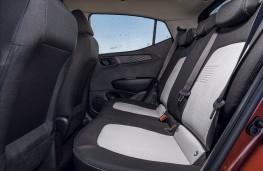 Hyundai i10, 2020, rear seats