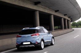 Hyundai i20 Active, rear