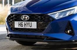 Hyundai i20, 2020, grille