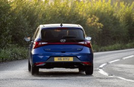 Hyundai i20, 2020, rear