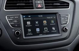 Hyundai i20, 2018, display screen