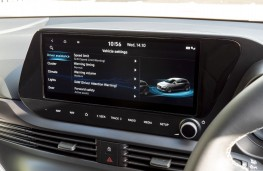 Hyundai i20, 2020, display screen