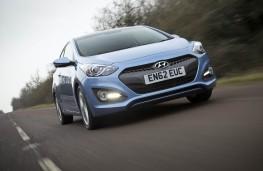 Hyundai i30, action