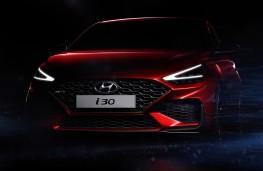 Hyundai i30 N Line, 2020, teaser