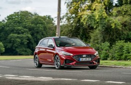 Hyundai i30, 2020, front, action