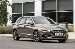 Hyundai i30, 2021, front