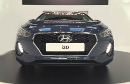 Hyundai i30, 2017, head on